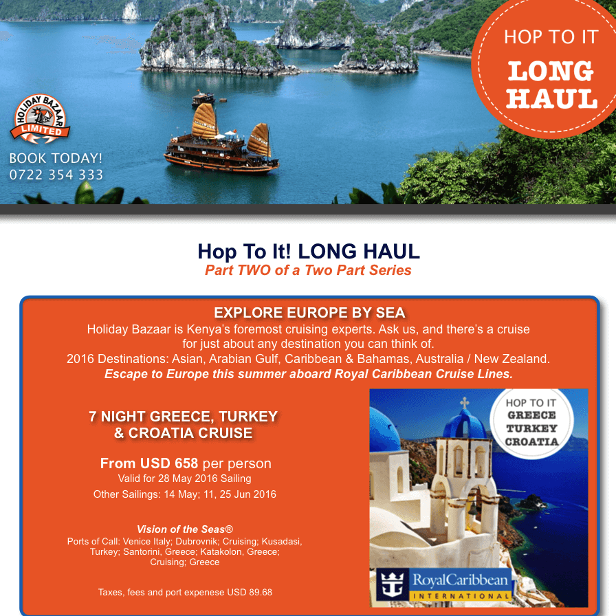 Travel Insurance Quotes Usa: Holiday Bazaar Hop To It! Long Haul Escapes